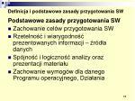 definicja i podstawowe zasady przygotowania sw6