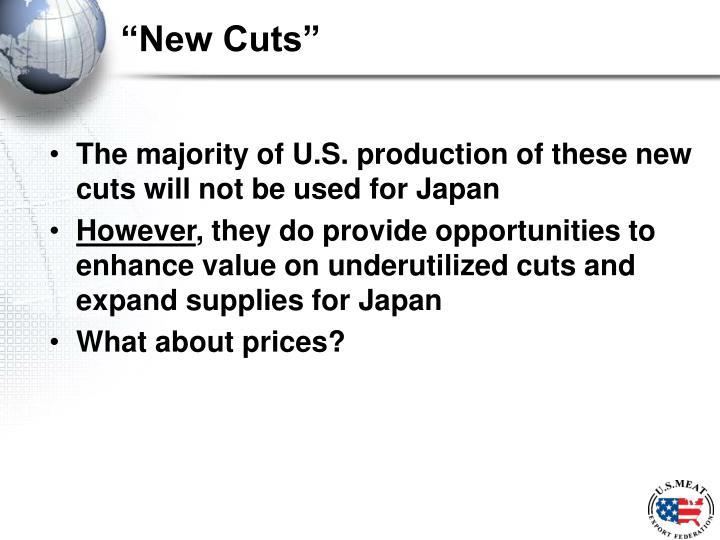 """""""New Cuts"""""""