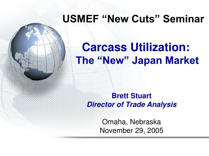Usmef new cuts seminar