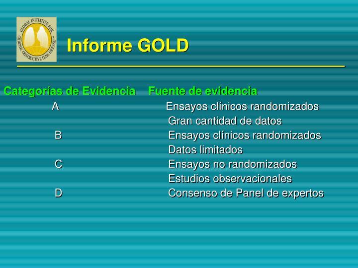 Informe GOLD