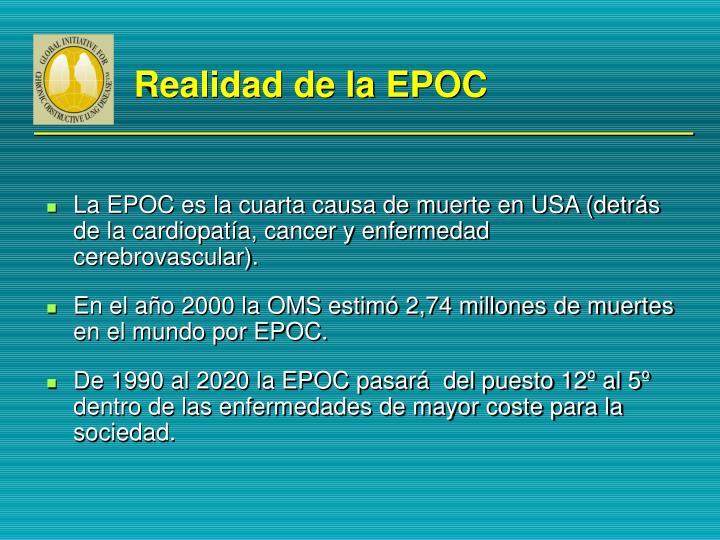 Realidad de la EPOC