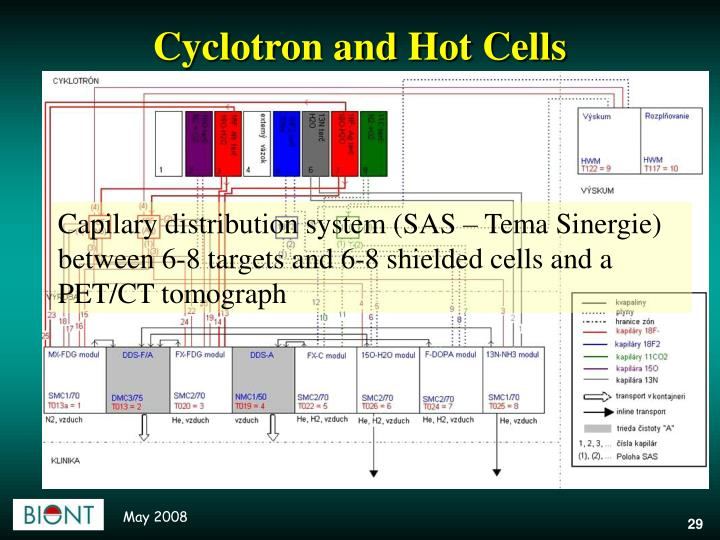 Cyclotron and Hot Cells