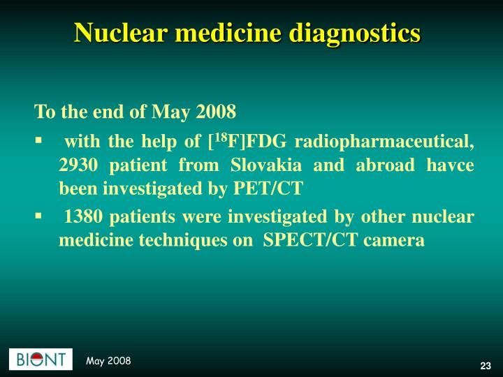 Nuclear medicine diagnostics