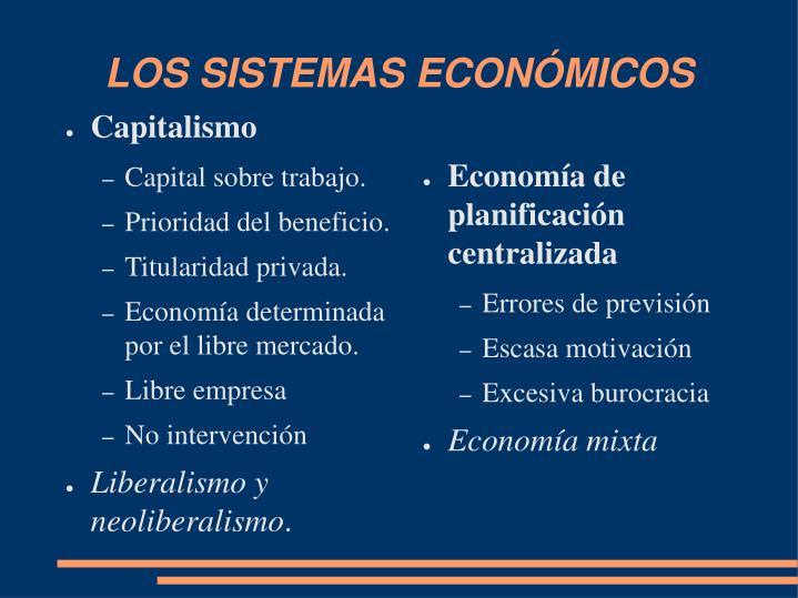 Economía de planificación centralizada