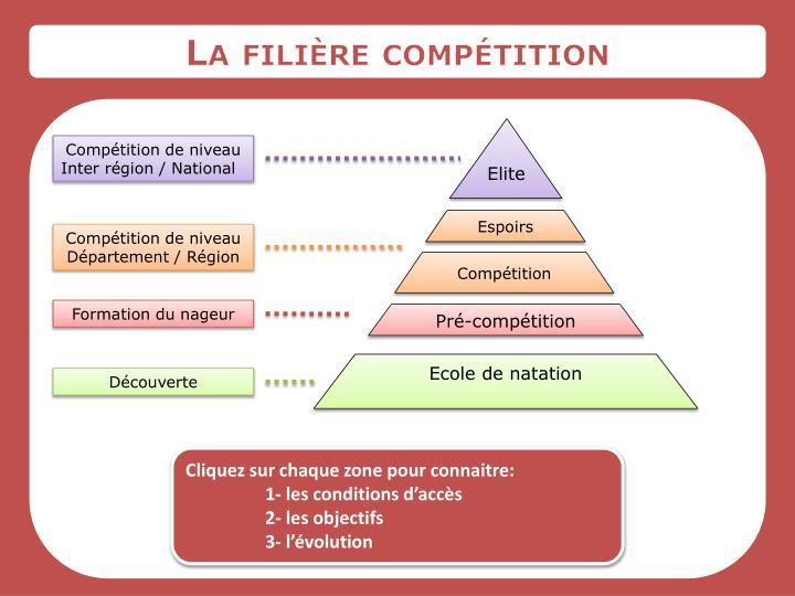La filière compétition