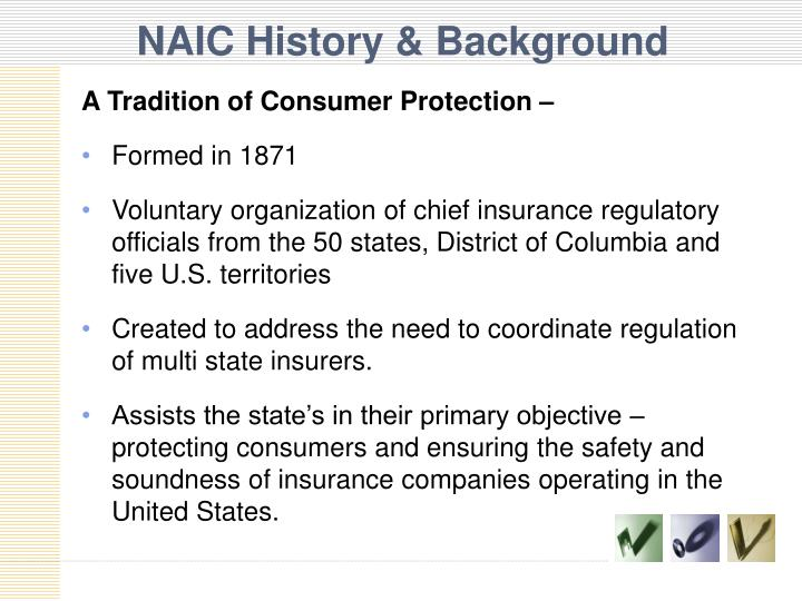 NAIC History & Background