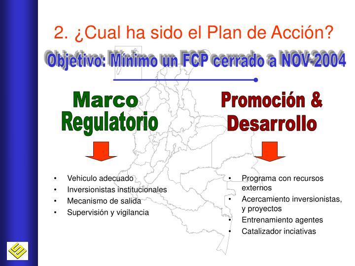 2. ¿Cual ha sido el Plan de Acción?