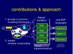 contributions approach
