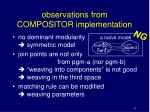observations from compositor implementation