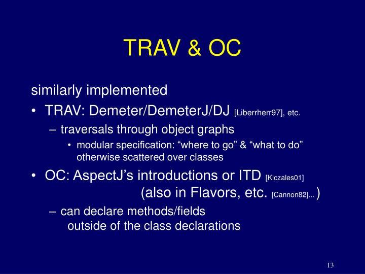 TRAV & OC