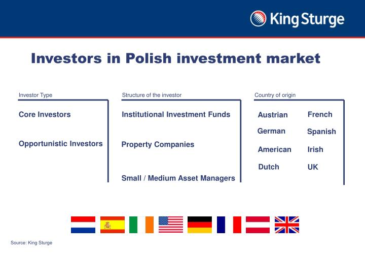 Investors in Polish investment market