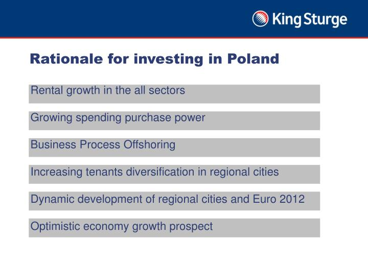 Rationale for investing in Poland