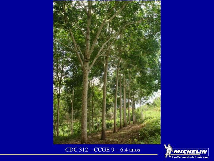 CDC 312 – CCGE 9 – 6,4 anos