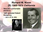 richard m nixon r 1969 1974 california1