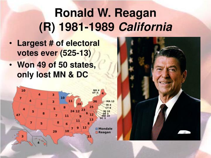 Ronald W. Reagan
