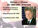 william j clinton d 1993 2001 arkansas2