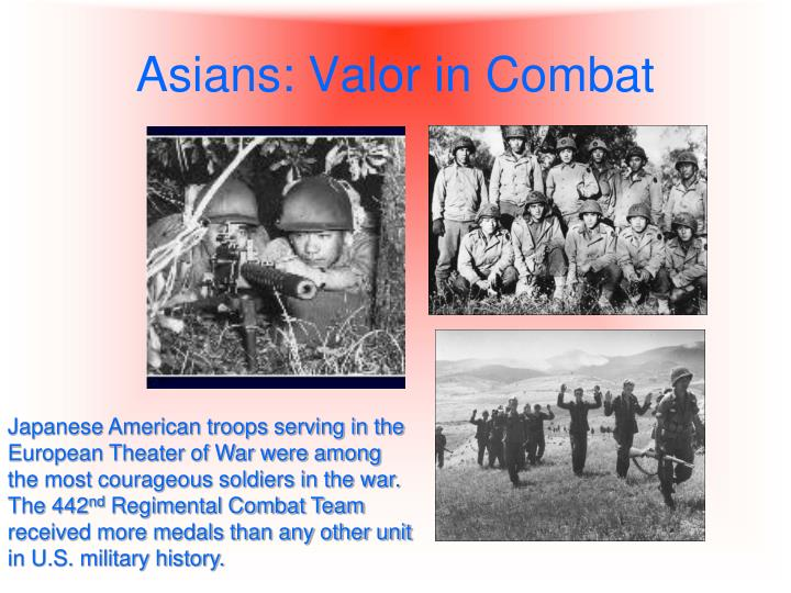 Asians: Valor in Combat
