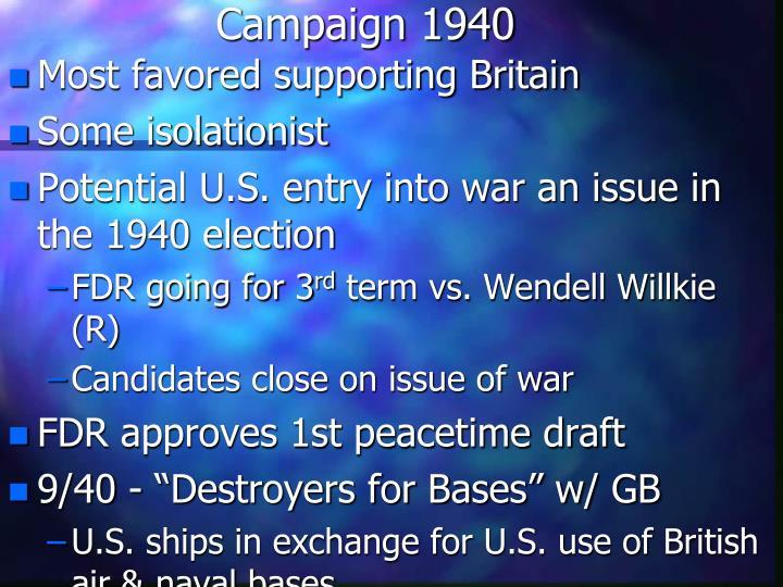 Campaign 1940
