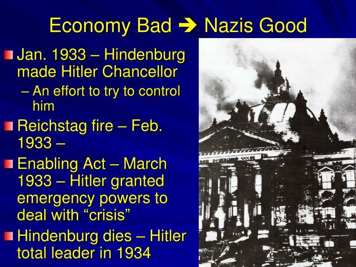 Economy Bad