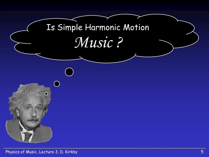 Is Simple Harmonic Motion