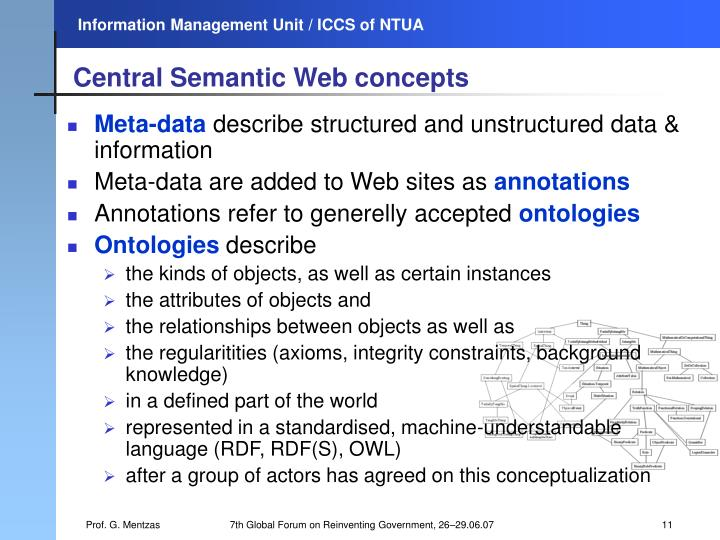 Central Semantic Web