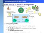 from change to attention management