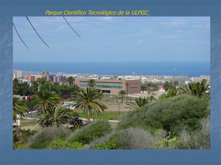 Parque Científico Tecnológico de la ULPGC