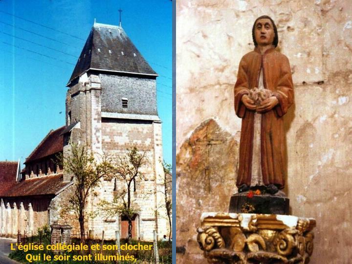 L'église collégiale et son clocher