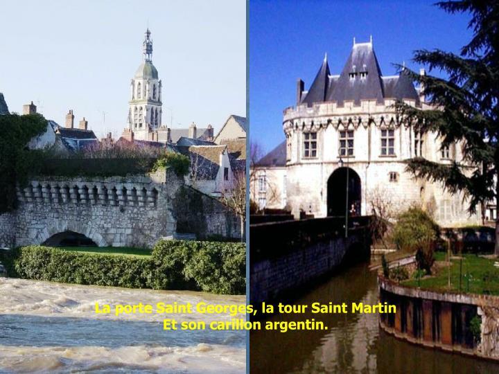 La porte Saint Georges, la tour Saint Martin