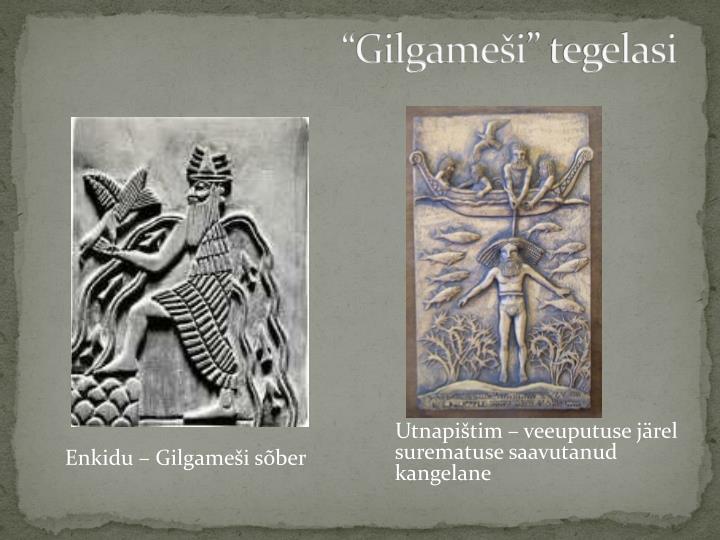 """""""Gilgameši"""" tegelasi"""