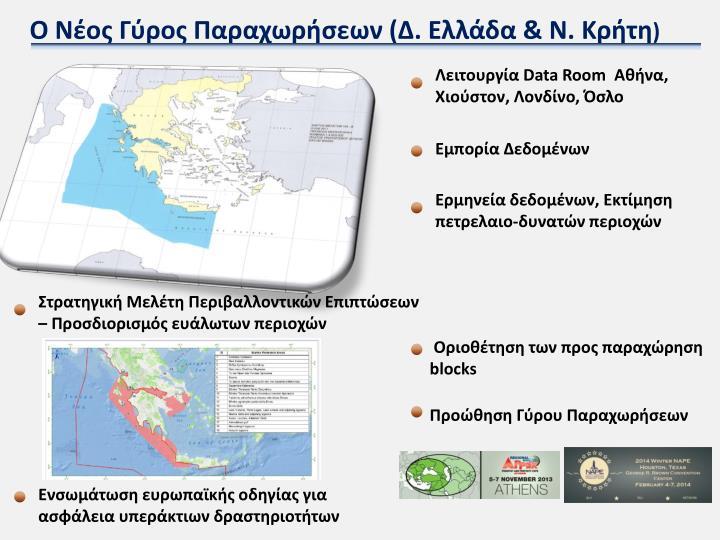 Ο Νέος Γύρος Παραχωρήσεων (Δ. Ελλάδα & Ν. Κρήτη