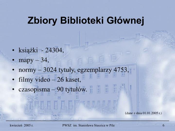 Zbiory Biblioteki Głównej