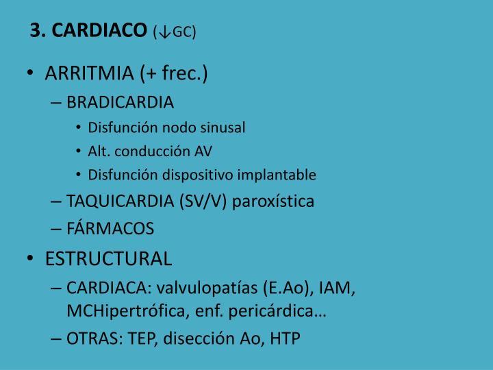 3. CARDIACO