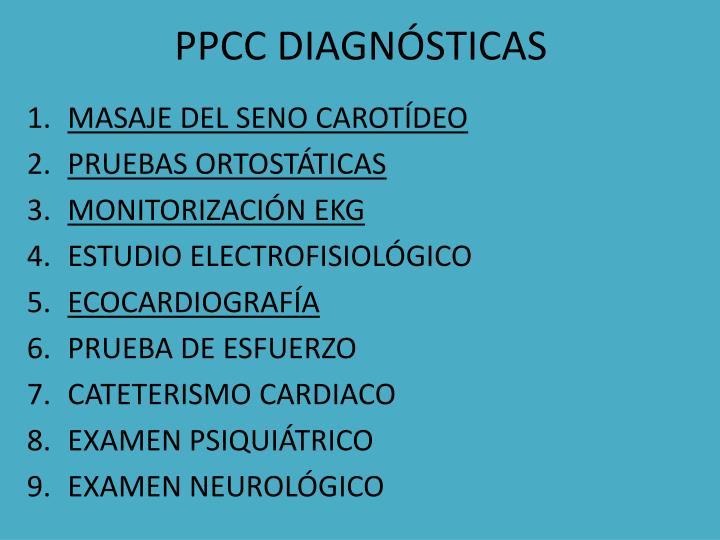 PPCC DIAGNÓSTICAS
