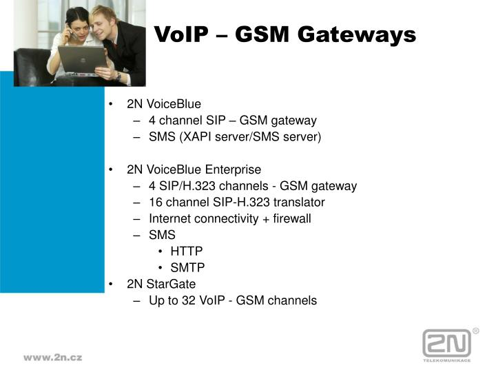 VoIP – GSM