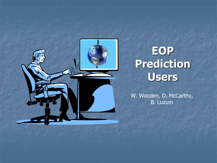 Eop prediction users