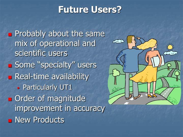 Future Users?