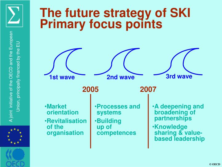 The future strategy of SKI