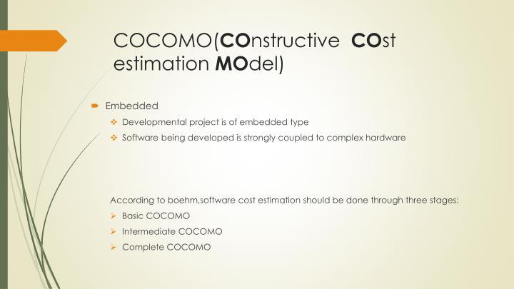 COCOMO(