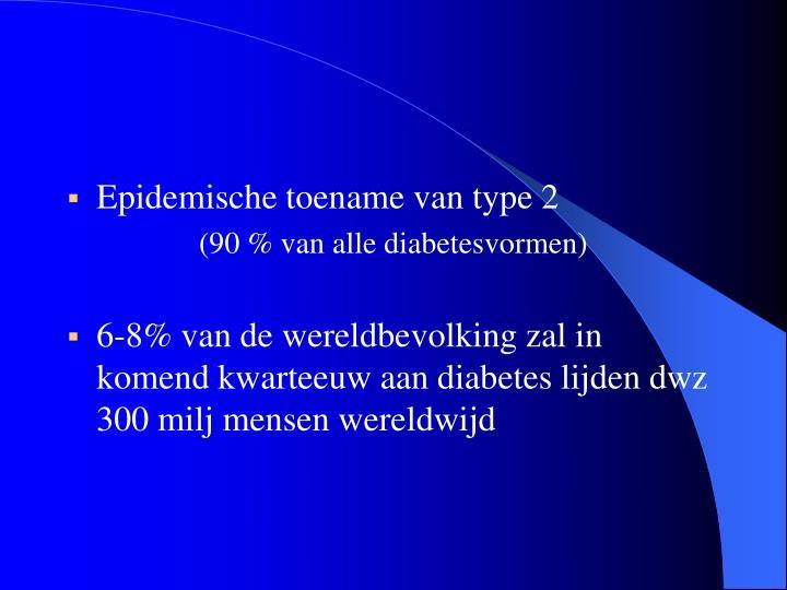 Epidemische toename van type 2