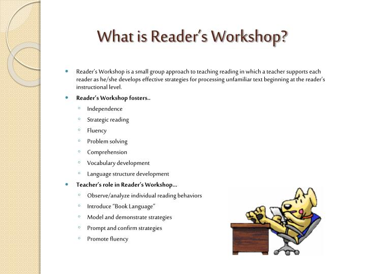 What is Reader's Workshop?