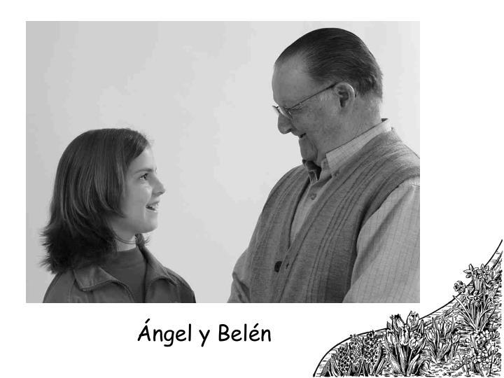 Ángel y Belén