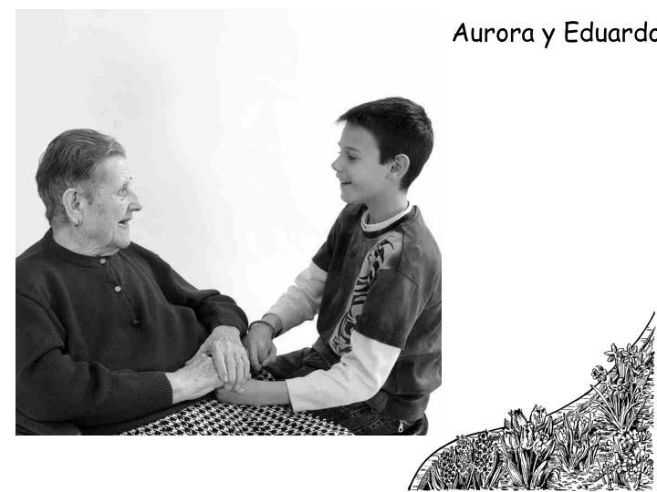 Aurora y Eduardo