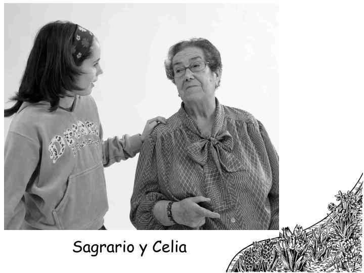Sagrario y Celia