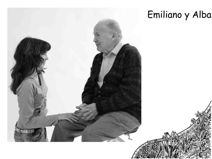 Emiliano y Alba