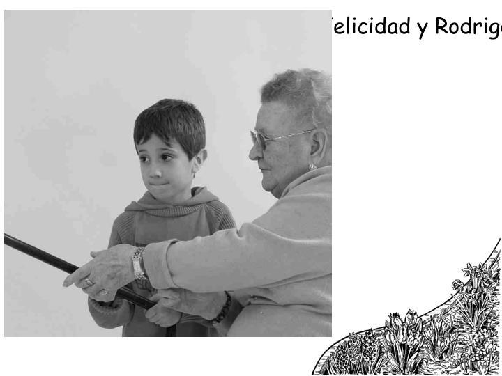 Felicidad y Rodrigo