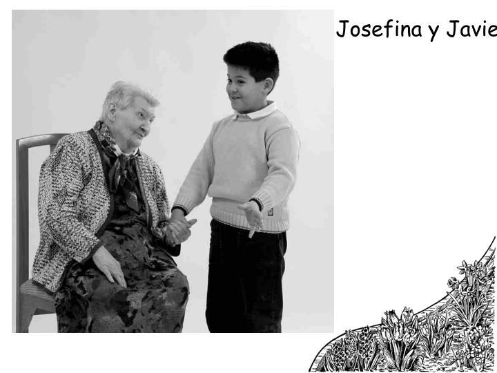 Josefina y Javier