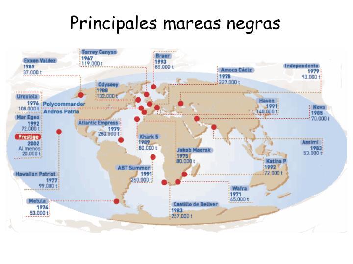 Principales mareas negras