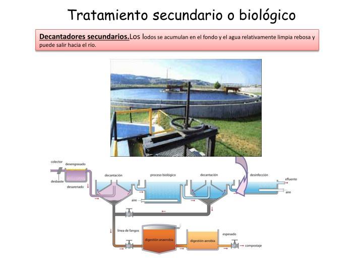 Tratamiento secundario o biológico