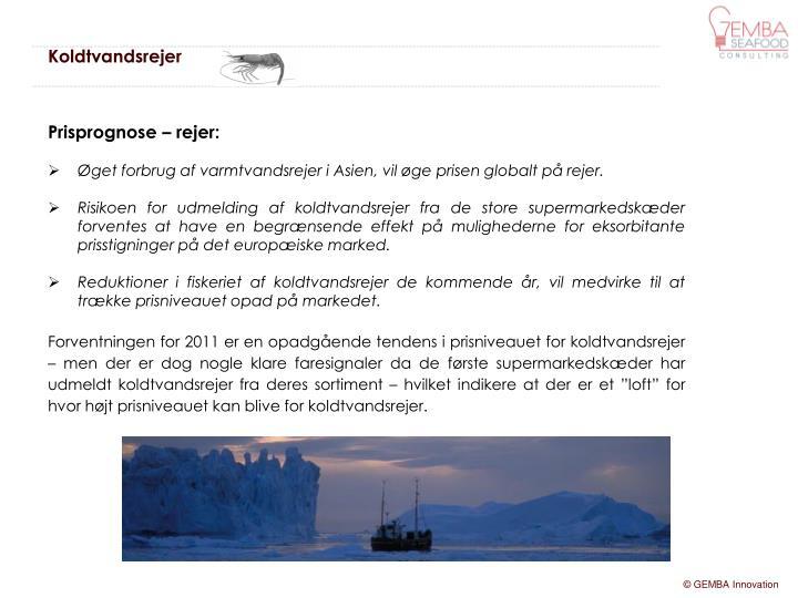 Koldtvandsrejer